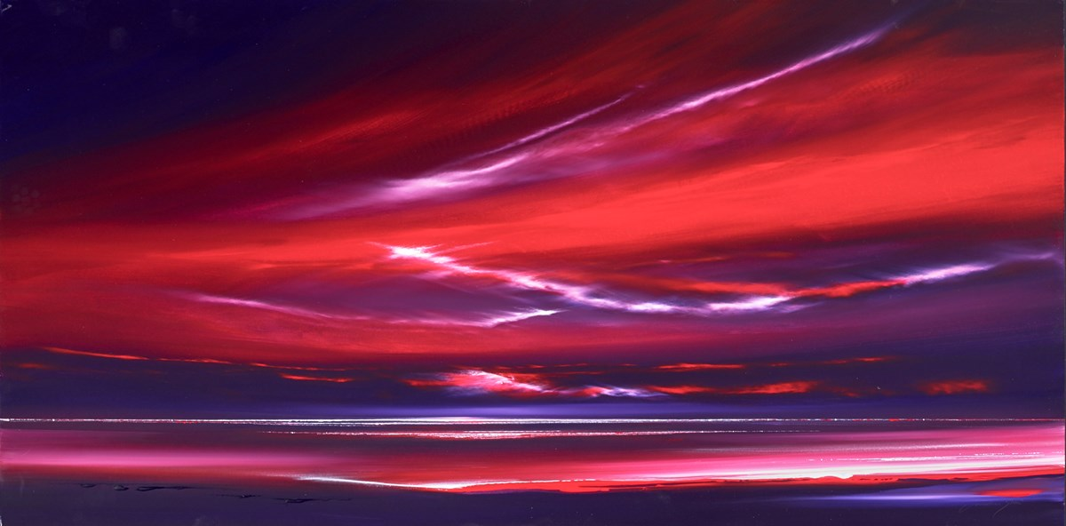 Ruby Sky II by jonathan shaw -  sized 48x24 inches. Available from Whitewall Galleries
